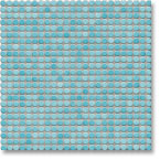 Jasba Loop mozaika okrągła śr.1cm aquablau glanzend