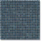 Jasba Loop mozaika okrągła śr.1cm stahlblau glanzend