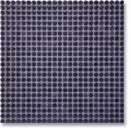 Jasba Loop mozaika okrągła śr.1cm dunkelviolett glanzend