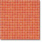 Jasba Loop mozaika okrągła śr.1cm korallenrot glanzend