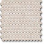 Jasba Loop mozaika okrągła śr.2cm elfenbein hell glanzend