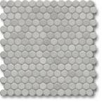 Jasba Loop mozaika okrągła śr.2cm diamantgrau hell glanzend