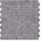Jasba Loop mozaika okrągła śr.2cm diamantgrau glanzend