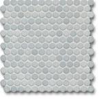 Jasba Loop mozaika okrągła śr.2cm denim glanzend