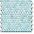 Jasba Loop mozaika okrągła śr.2cm aquablau hell glanzend