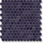 Jasba Loop mozaika okrągła śr.2cm dunkelviolett glanzend