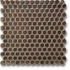 Jasba Loop mozaika okrągła śr.2cm bronze metallic