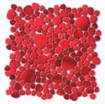 BARWOLF Mozaika ceramiczna kiesel red