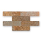 BARWOLF Mozaika kwarcytowa 20x5cm tundra