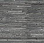 BARWOLF Mozaika łupkowa paseczki 30x30cm black
