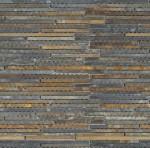BARWOLF Mozaika łupkowa paseczki 30x30cm rustic