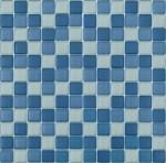 BARWOLF Mozaika szklana 2,3x2,3cm blaumix