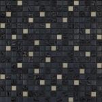 BARWOLF Mozaika szklana 1,5x1,5cm tuscany metal black