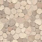 BARWOLF Mozaika kamienie szlifowane 30x30cm
