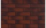 Burgund płytka elewacyjna rustykalna cieniowana 6,5x24,5 cm Cerrad