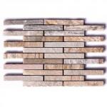 BARWOLF Mozaika kwarcytowa podłużna 24,5x30,5cm
