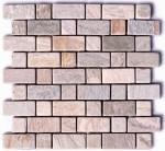 BARWOLF Mozaika kwarcytowa prostokątna 30,5x30,5cm