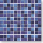 JASBA LaVita Mozaika 2x2cm 3603H indigo-blue półmat