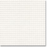 JASBA Atelier mozaika 1x1cm 8600H alabaster white