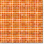 JASBA Atelier mozaika 1x1cm 8604H citrus orange mix