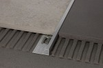 Profil narożny zewnętrzny DJK/125 - 95704 mosiądz chromowany 12,5x5 mm  długość  2,7m  ProfilPass
