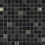 Jsba Fresh mozaika 2 x 2 cm 41505 midnight black-mix metallic glänzend