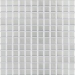 Jasba Fresh mozaika 2 x 2 cm 2455 platin seidenglanz