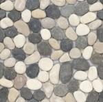 BARWOLF Mozaika kamienna otoczaki 30x30cm