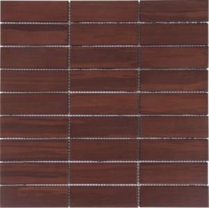 Bambu Acajou mozaika drewniana 3,1x9,8cm BATI ORIENT