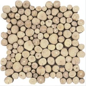 Mozaika drewniana Bois uniforme 30x30cm BATI ORIENT