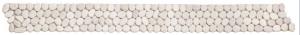 Mozaika kamienna Galets Mats Blanc 10x100cm BATI ORIENT