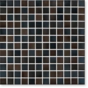 JASBA LaVita mozaika 2x2cm 3607H graphite black półmat