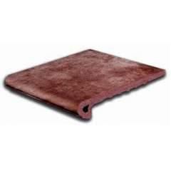 GRES DE ARAGON Mytho stopnica klinkier 33x32,5 rubino