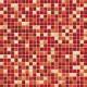 Jasba LaVita Mozaika 1 x1 cm 3666H Sunset Red Mix Półmat