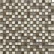 BARWOLF Mozaika szklana 1,5x1,5cm tuscany antik silver carved