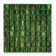 BARWOLF Mozaika szklana 28,8x28,8 cm emerald green