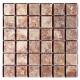 BARWOLF Mozaika szklana 4,8x4,8cm creme