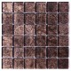 BARWOLF Mozaika szklana 4,8x4,8cm brown